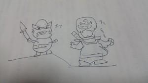 魔王VSジライヤ
